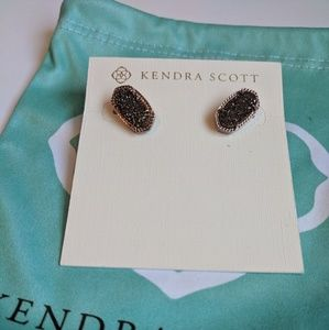 kendra scott ellie chocolate stud earrings